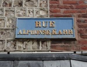 Rue Alphonse-Karr à Etretat - 1