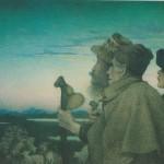 Les bergers par Lucien Lévy-Dhurmer 1896
