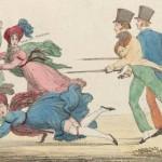 « Les piqueurs », estampe, 1819, Source BNF