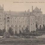 L'abbaye de Solesmes vers 1910 - carte postale