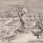 Saint Grégoire le Thaumaturge arrêtant la crue du  Lycus