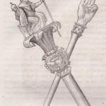 Sceptre et main de Justice de Charles le Chauve