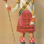 Tambour major écossais 1815