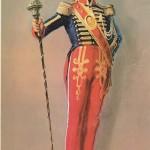 Tambour major italien 18e siècle