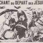 Le chant du départ des Jésuites 1880