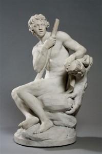 03 Berger assis par Louis-Philippe Mouchy ( 1734 - 1801 )