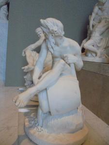 11 un fleuve d'après Jean Jacques Caffieri (1725 - 1792)