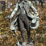 02 Belgrade Sérbie Statue de dositelj obradovic écrrivain