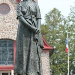 05 Grand Pré Canada Statue d Evangélina ( poème épique de Henry W. Longfellow )