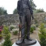 06 Grasse France Statue de Ivan Bounine écrivain prix Nobel de littérature en 1933