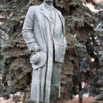12 Moscou Russie Statue de Maxim Gorky écrivain