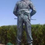 13 Ouistreham France Statue de Lord Lovat General de brigade