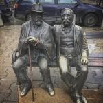 15 Sofia Bulgarie Statue de Petko Slaveykov poète