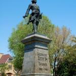 18 Taganrod Russie Monument à l'empereur Pierre 1er le grand ( Piotr Alekseïevitch Romanov )