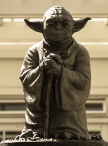 27 San Francisco Californie USA Statue de maître Yoda ( de l' Ordre Jedi ) Acteur et Philosophe