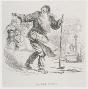 4 - Le Juif errant par Grandville