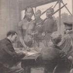 Baguettes à compter les victimes au Congo 1906