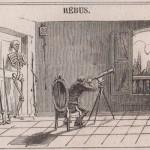 Cannes en rébus dans Le Monde illustré 9-06-1860