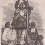 Guerrier des îles Marquises en 1874