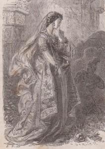 La magicienne Serène et sa baguette