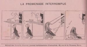 La promenade interrompue - 1904