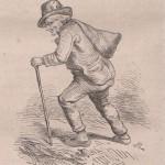 Marchand d'épingles de bois en 1863
