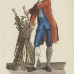 Marchand de cannes par Poisson - Cris de Paris - 1775  Gallica