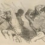 Dessin de CHAM dans Le Journal amusant du 14 février 1863