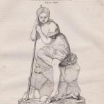Grass - Petite paysanne bretonne - 1839