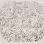 Une averse à Paris - L'Ami de la maison 5-06-1856