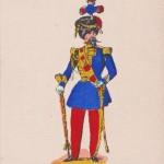 Le tambour-major - Imagerie Pellerin à Epinal