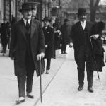 Joseph Caillaux et Pierre Laval 17 avril 1925