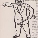 Laval à Vichy - caricature
