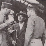 Pierre LAVAL arrêté par les Américains en 1945
