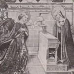 Ange de l'Annonciation par Nicolas Alunno XVe s