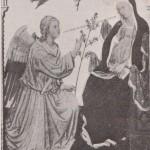Ange de l'Annonciation par Taddeo di Bartolo - XIVe siècle