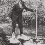 Canne pour marcher sur l'eau - Ohio 1929