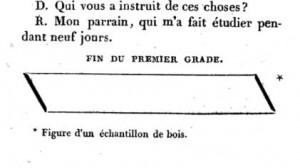Echantillon dans Saint-Edme 1822
