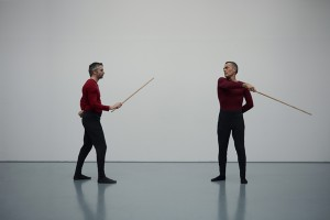 Canne de combat - Frédéric Morin - Jérôme Perignon - Photographie Agnès Geoffray