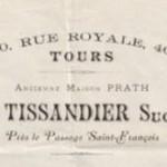 Parapluies et cannes Tissandier Tours vers 1880