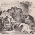 Le roi d'Abyssinie Sahlé-Sellassi vers 1835