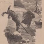 L'homme noir et son bâton