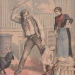 Enfant martyrisé à coups de bâton en 1897