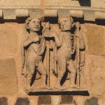 Gémeaux abbatiale d'Issoire