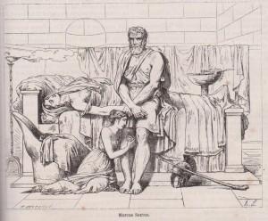 Marcus Sextus par Guérin