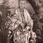 Statue de St Thiebault collégiale de Thann