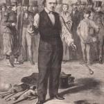 Pradier le bâtonniste - Le Monde illustré 22-11-1862