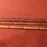 canne à pêche composée de 5 segments