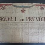 Brevet de bâton 1830