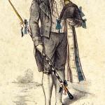 Compagnon cloutier du Devoir en tenue d'enterrement - 1858